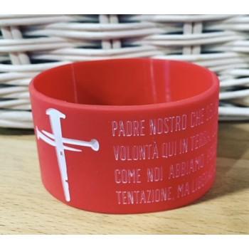Croce - Padre Nostro - Rosso