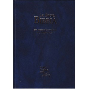 Bibbia da Studio Thompson Rigida, Blu