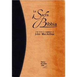 "Bibbia da Studio MacArthur - Similpelle ""Duo"" - Versione Nuova Riveduta"