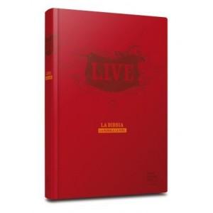 Bibbia Live in Similpelle Rossa
