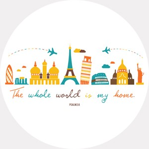 The whole world is my home