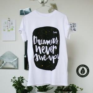 Dreamers never give up - Maschile