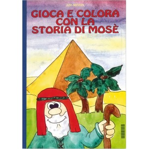 GIOCA E COLORA CON LA STORIA DI MOSE'